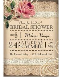 vintage bridal shower great deals on vintage bridal shower invitations