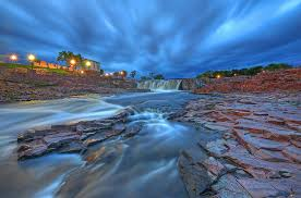 South Dakota waterfalls images Sioux falls south dakota photograph by chris allington jpg