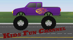 monster truck kids video digger truck yellow truck monster trucks videos on youtube yellow