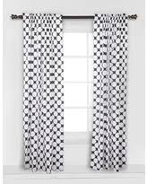 Black And White Draperies Sweet Deals On Black And White Curtains