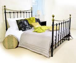 monmouth black metal bed 4ft6 bedroom furniture direct