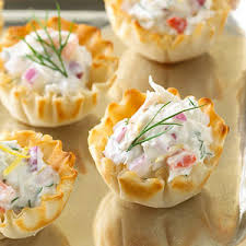crab canapes spicy crab and anchovy canapes food so mall