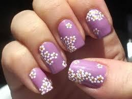 retro floral nail art 3 nail art pinterest flower nail