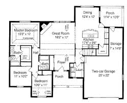 Ranch Style Homes With Open Floor Plans Open Floor Plans Ranch Style Homes Esprit Home Plan