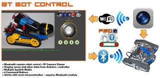 bt bot control u0026 ip cambot plastibots