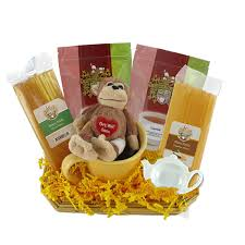 feel better soon gift basket get well soon gift basket with stuffed