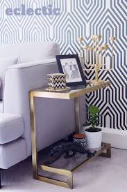 vintage gold side table how to style your side table three different ways sarah akwisombe