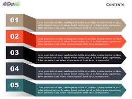 table of contents powerpoint template powerpoint 2010 table of