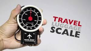 travel scale images Kikkerland travel luggage scale jpg
