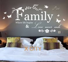 family where life begins quote words bedroom wall art sticker family where life begins quote words bedroom wall art sticker removable vinyl transfer decal home decoration s m l in wall stickers from home garden on