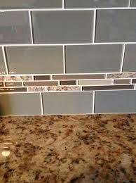 glass subway tiles napoli granite mosaic glass tile backsplash