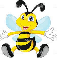 cute bee cartoon waving stock vector art 606005470 istock