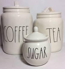 rae dunn new rae dunn by magenta ll coffee tea canister set with sugar bowl