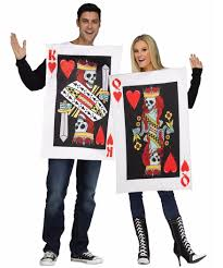 halloween costumes for couple deckofcards couples 38395 jpg