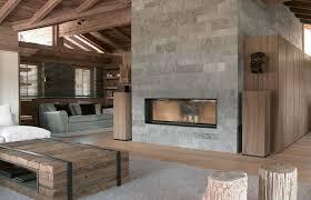 best chic mountain chalet interiors 12858