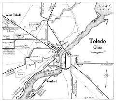 Toledo Map Ohio City Maps At Americanroads Us