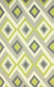 Modern Green Rugs Tufted Geometric Contemporary Accent Rug 2 X 3 36 12
