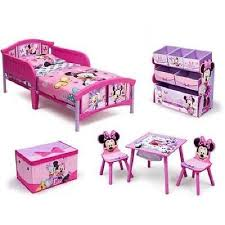 Minnie Mouse Toddler Chair Children Disney Minnie Mouse Room Set Table Chairs Bed Storage