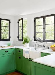 green base cabinets in kitchen 26 gorgeous green kitchen cabinet ideas for 2021