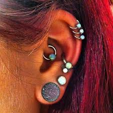 awesome cartilage earrings check out these cool ear piercings for rook piercing ear plugs