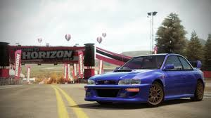 subaru wrx widebody forza horizon cars