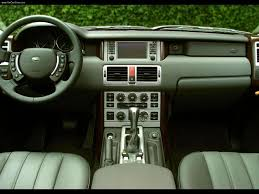 land rover interior land rover range rover 2003 picture 22 of 30