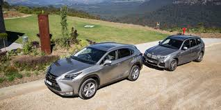compare lexus vs audi bmw x3 xdrive28i vs lexus nx200t sports luxury comparison test