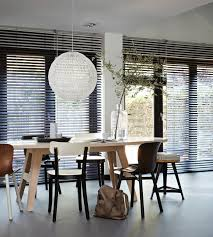Dining Room Blinds Dining Room Luxaflex Blinds To Transform The Home