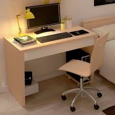 Desk For Desktop Computer by Brilliant Simple Desks Solid Wood Office Desk Brilliant For