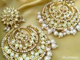 punjabi jhumka earrings beautiful punjabi earrings designs 2017