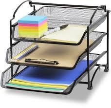 School Desk Organizers by Letter Trays U0026 Stacking Supports Amazon Com Office U0026 School
