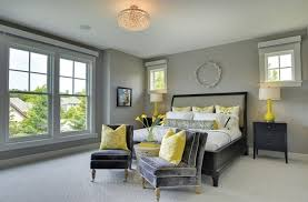 accessoires chambre chambre à coucher chambre grise accessoires jaune chambre grise