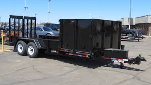 What Does A Landscaper Do by Side Dump Landscape Trailer Is Changing The Lawn Care Business
