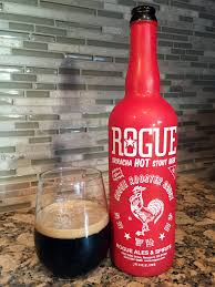 sriracha bottle cap rogue sriracha stout beer review a pint of hoppiness