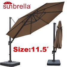 Orange Patio Umbrella by Cantilever Patio Umbrella Ideas