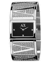 armani watches bracelet images A x armani exchange watch women 39 s stainless steel bracelet jpg