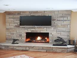 fireplace stone veneers dry stack stone fireplace interior dry