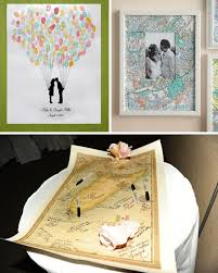 wedding autograph frame unique destination wedding guest books