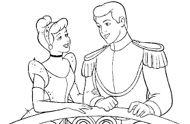 disney cinderella coloring pages coloring pages