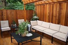 Deck And Patio Ideas For Small Backyards by Tub Privacy Fence Ideas Home Outdoor Solutions Fences