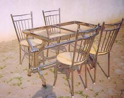steel dining table set stainless steel dining table at rs 15000 onwards steel dining