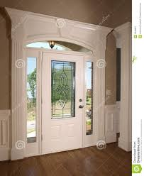 home front door luxury model home front door stock image image 5349907