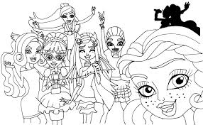 monster christmas coloring pages free printable coloring