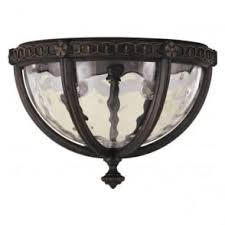 Porch Ceiling Lights Flush Fitting Porch Ceiling Light Fitting In Weathered Bronze