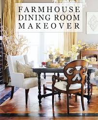 Farmhouse Dining Room Makeover With The  SherwinWilliams - Dining room makeover