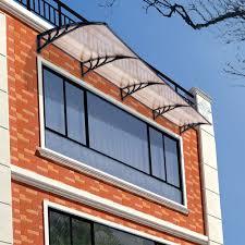 Awning Sun Window Door Canopy Awning Sun Shade Hollow Sheet Garden Roof
