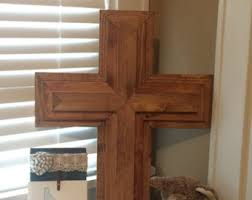 wood crosses for crafts wood cross etsy