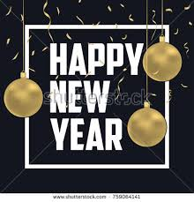 vector illustration happy new year 2018 stock vector 486879913