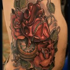 lucky heart tattoo heart wrist tattoo on tattoochief com