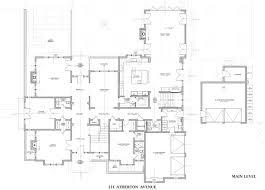 214 atherton avenue atherton floor plans home pinterest
